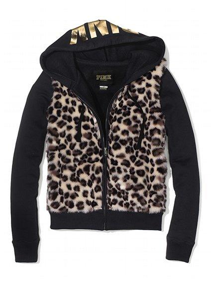 Victoria secret cheetah hoodie