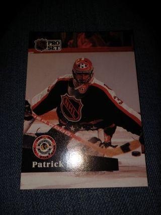 Hockey card - Patrick Roy 1991
