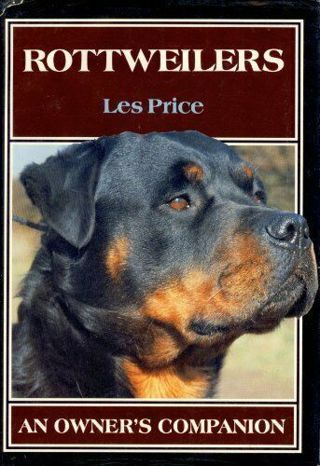 Rottweilers: An Owners Companion