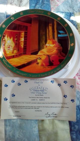 Garfield Collector Plate